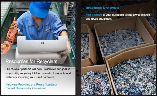HP Environment - Recycling & Reuse